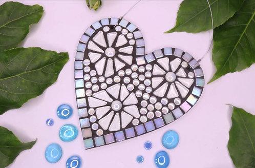 Vanilla Ice Heart: Hanging Garden Mosaic