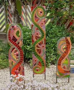 brookfield school glass mosaic panel project