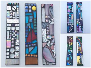 garden art - glass mosaic workshop
