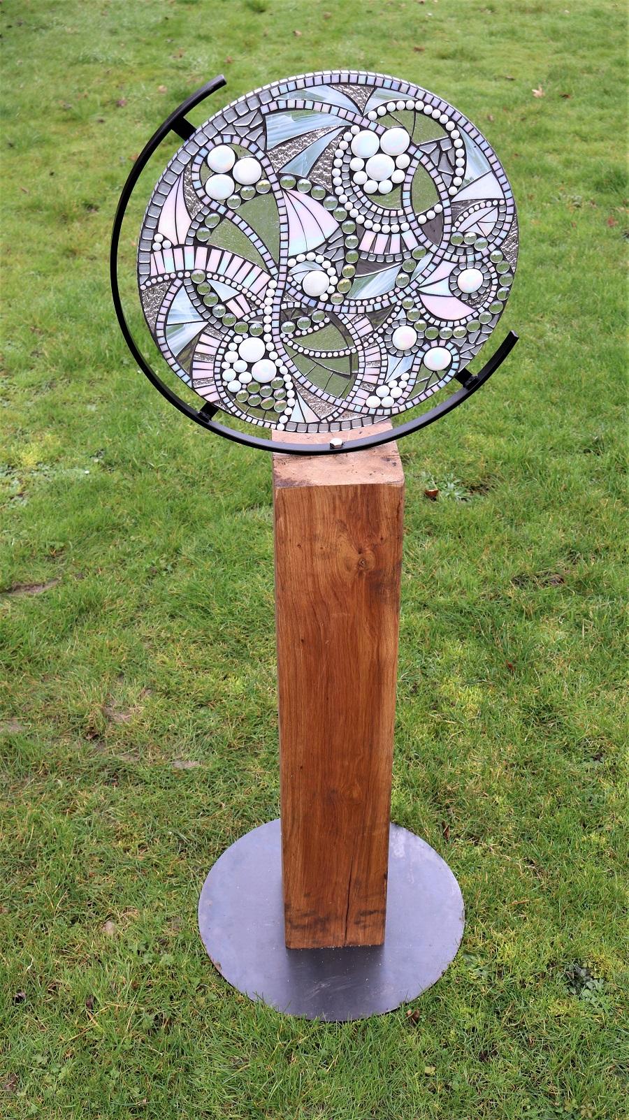 Garden Sculpture- Wolf Moon