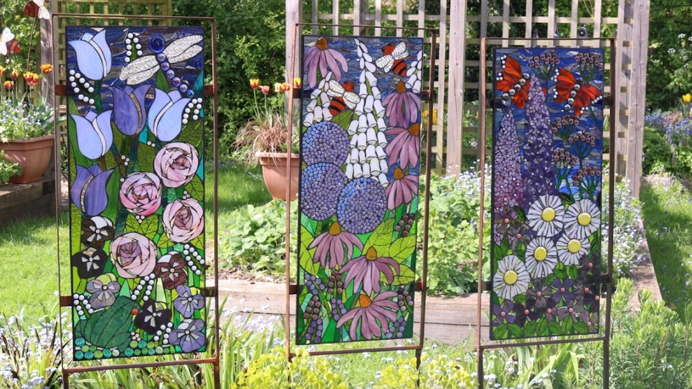 Garden Sculpture- Cottage Garden Panels