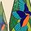 Thumbnail: Bird Teardrop Garden Art
