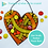 Thumbnail: Heart: Outdoor Mosaic Base Substrate - Clear Acrylic Perspex