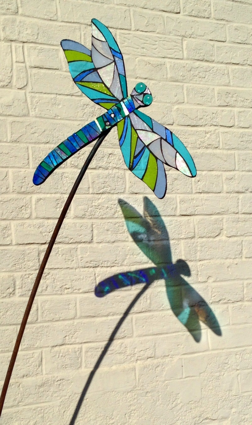 Dragonfly Garden Sculpture