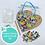 Thumbnail: CREATIVITY HEART- Indoor Mosaic Craft Kit