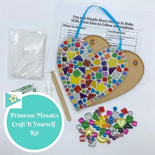 CREATIVITY HEART- Indoor Mosaic Craft Kit