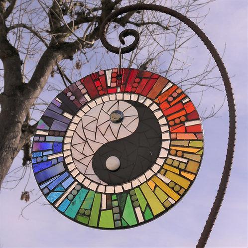 Duality : Glass Hanging Garden Mosaic