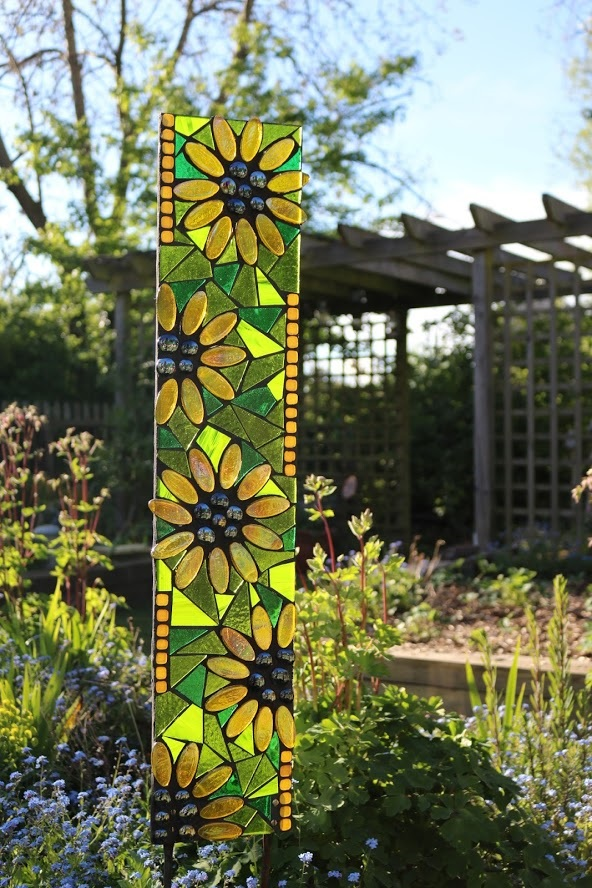 sunflower-garden art