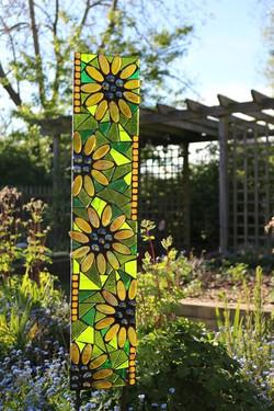 sunflower-garden art