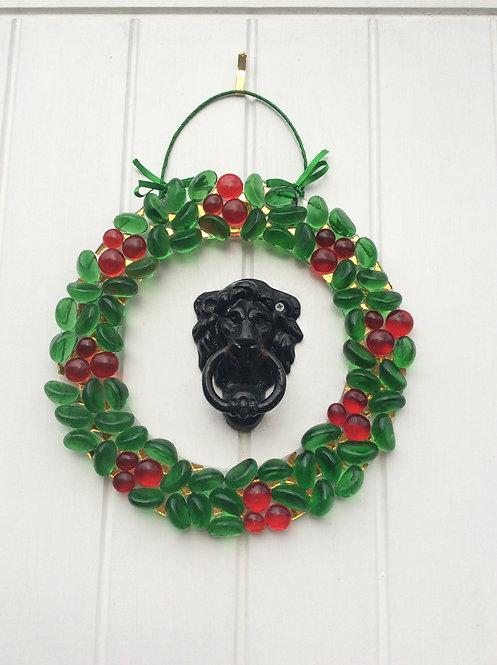 Glass Xmas Wreath