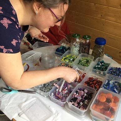 glass mosaic workshops