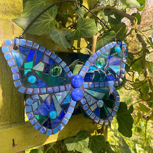 Hanging Garden Butterfly :Blue