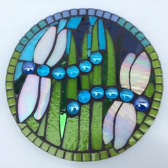 glass dragonfly craft workshop