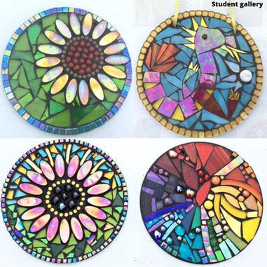 circle mosaic workshop cotswold