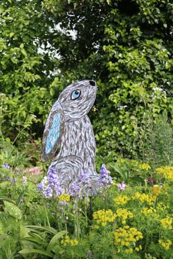 Moongazey Hare Garden Mosaic