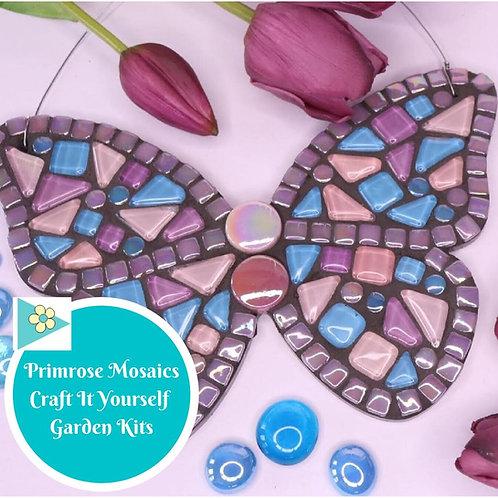 Cottage Garden Butterfly- Garden Mosaic Craft Kit