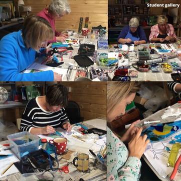 Garden mosaic workshop swindon