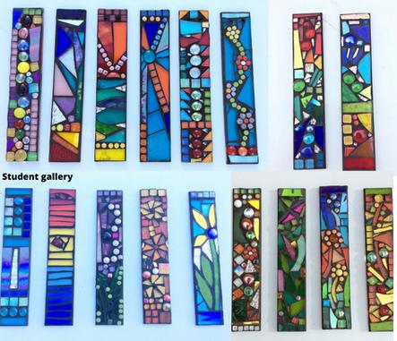 create your own garden mosaic