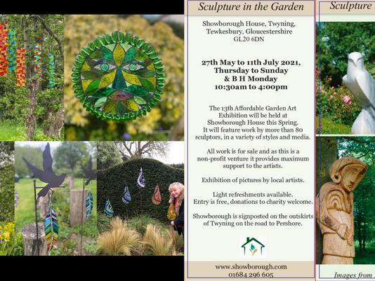 Showborough House Garden Sculpture Exhibition