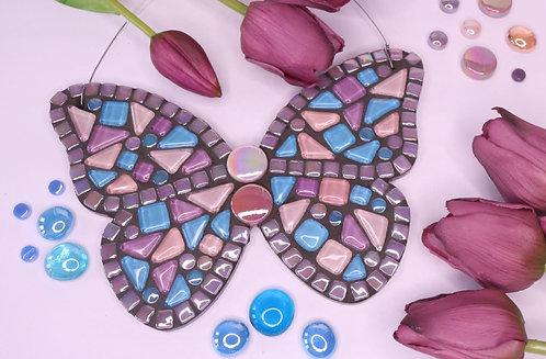 Cottage Garden Butterfly: Hanging Garden Mosaic