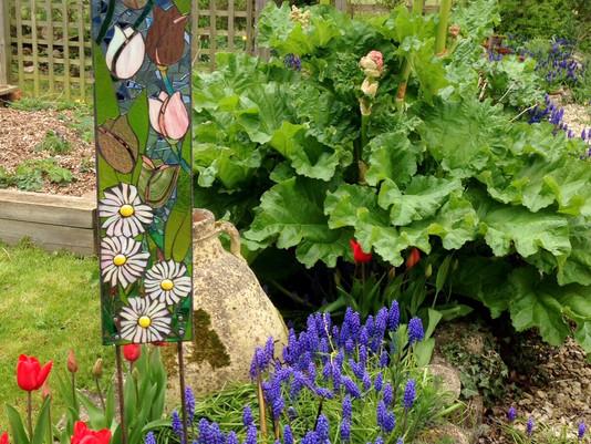 Tulips for Showborough Gardens Sculpture Exhibition