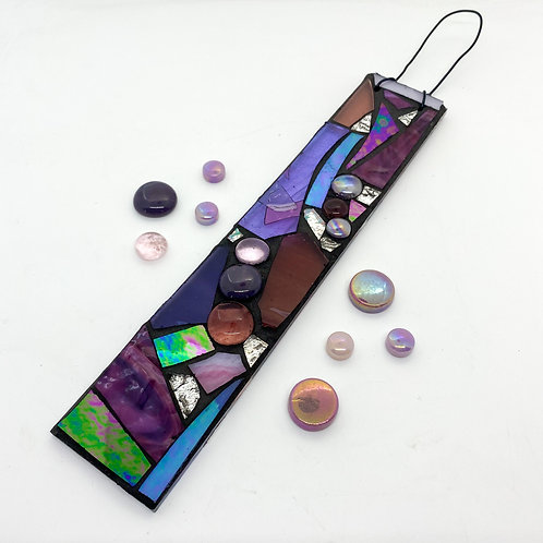Purple  Hanging Garden Pendant