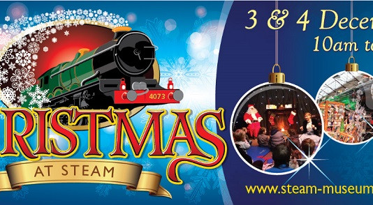 Steaming Ahead Towards Christmas
