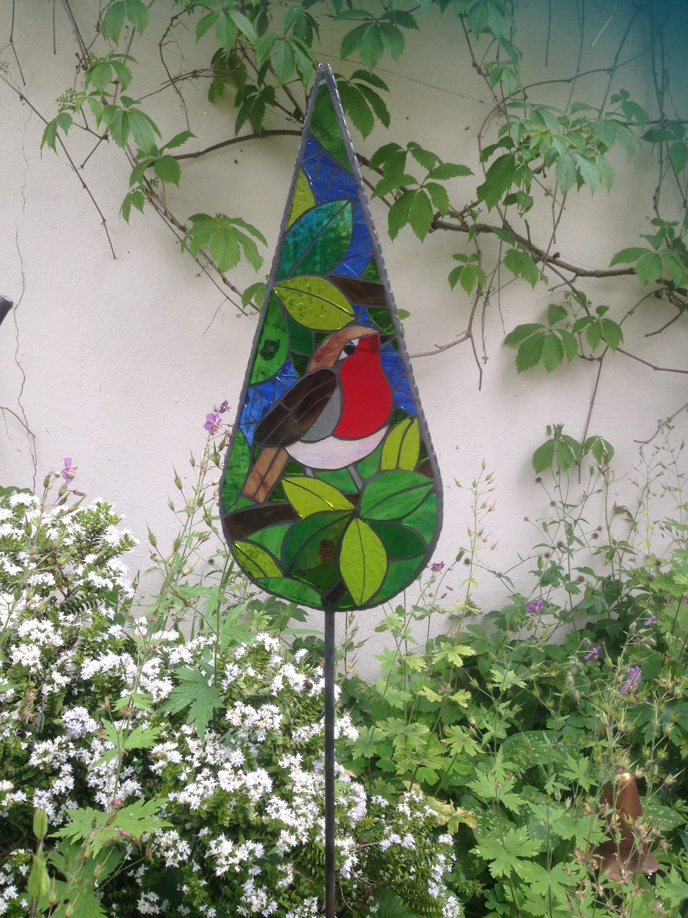 Robin Garden Art- British Birds