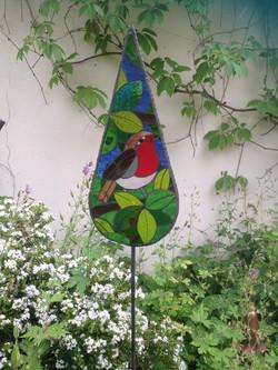 Robin Garden Art- British Birds