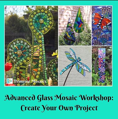 Advanced Glass Mosaic Workshop: Saturday 5th/ Sunday 6th June 2021