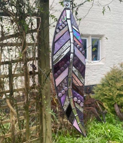 Hanging Garden Feather: Purple