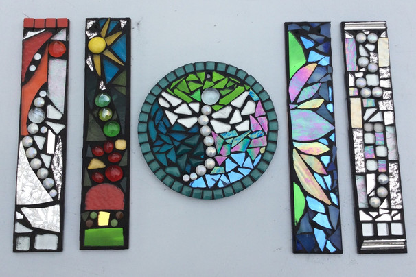 glass mosaic craft workshop