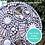 Thumbnail: Circles- 15/20/25 cm: Outdoor Mosaic Base Substrates -  Clear Acrylic Perspex