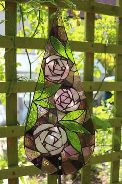 roses garden art