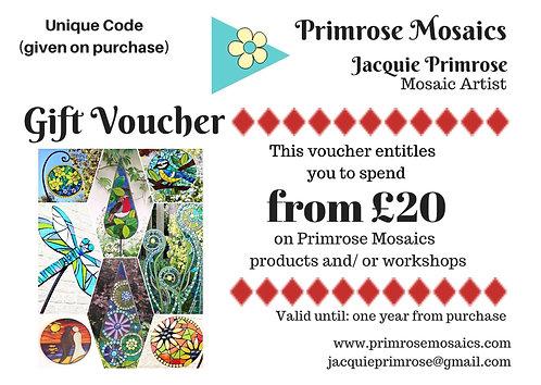 Primrose Mosaics Voucher