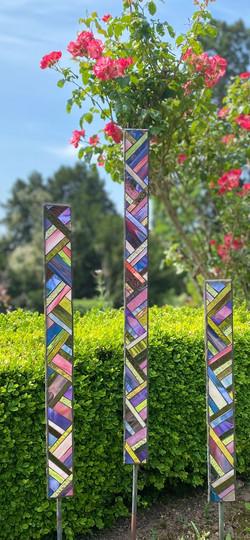 Diagonals Garden Sculpture