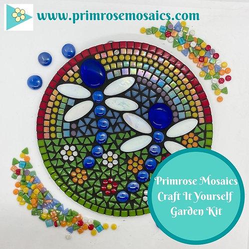 Dragonfly Circle- Garden Mosaic Craft Kit