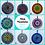 Thumbnail: Mini Mandalas: Garden Ornament/Home Decoration