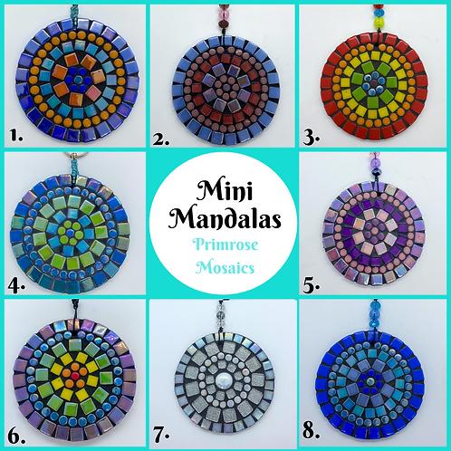 Mini Mandalas: Garden Ornament/Home Decoration