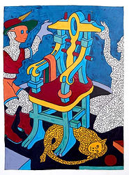 Martin Guderna_#6_Enamel on Paper -24x18