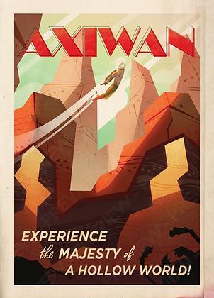 Tourist Print - Axiwan