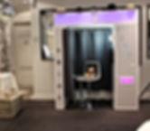 photomaton cabine photo, animation photo montage, light painting