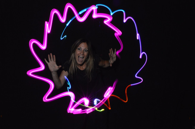 Photocall animation light painting