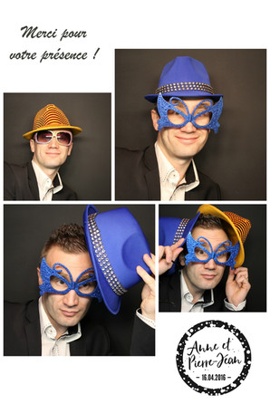 Animation photobooth borne photos mariage