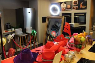Photobooth miroir tactile