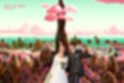 Photocall Photo montage mariage stand photo drole