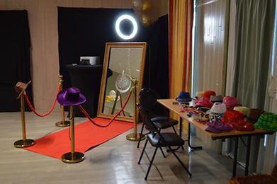 miroir magic interactif borne photo