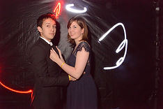 animation light painting pas cher pour mariage