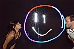 Animation light painting pas cher mariage soirée du personnel