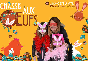 chasse aux oeufs animation photos mairie